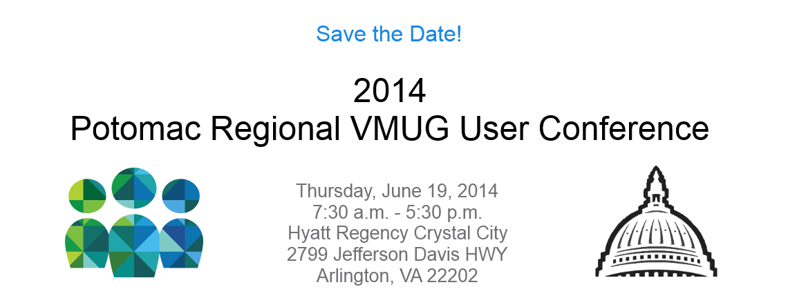 Save the Date: 2014 Potomac Regional VMUG User Conference