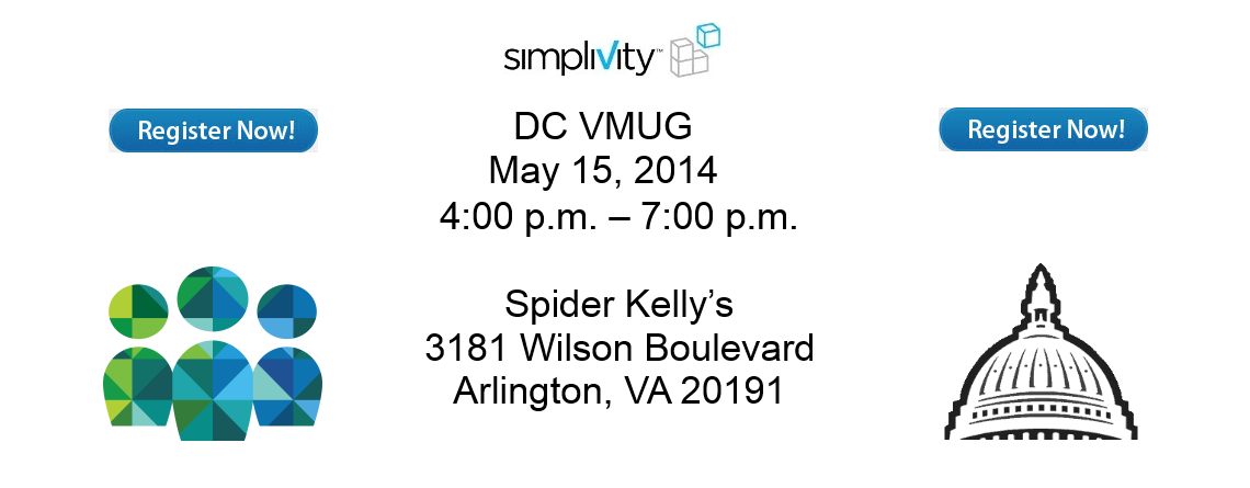 May 15, 2014 DC VMUG with SimpliVity