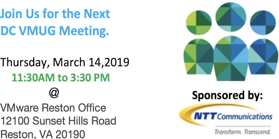 March 14 meeting with NTT Communications